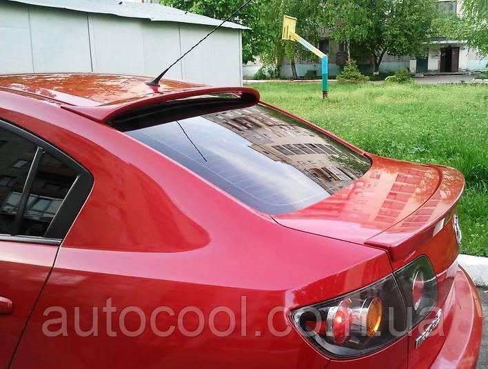 Спойлер заднего стекла ( козырек, бленда ) Mazda 3 седан 2003-2009 г.в. Мазда 3 - AutoCool (Ауто кулл) в Чернигове