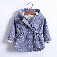 Детская легкая куртка для девочки