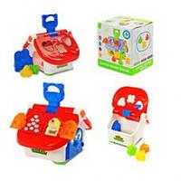 Развивающая игрушка Музыкальная Игрушка-сортер Joy Toy Теремок  M 0003
