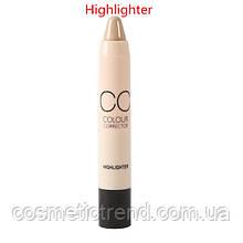 Хайлайтер-стик для лица сияющий Stick Color Corrector Highlighter Me Now