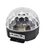 Светодиодный шар LED Magic Ball Light с пультом и флешкой FK