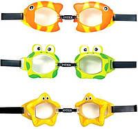 Детские очки для плавания Intex
