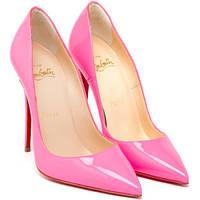 Louboutin So Kate 10 cm  Pink 3140495P120 Кожа  Розовые лодочки Лабутены Туфли