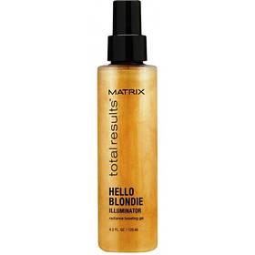 Matrix Total Results Гель-уход ILLUMINATOR для волос оттенка блонд,125 мл