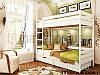 Кровать Дуэт двухъярусная деревянная, ТМ Эстелла, фото 6