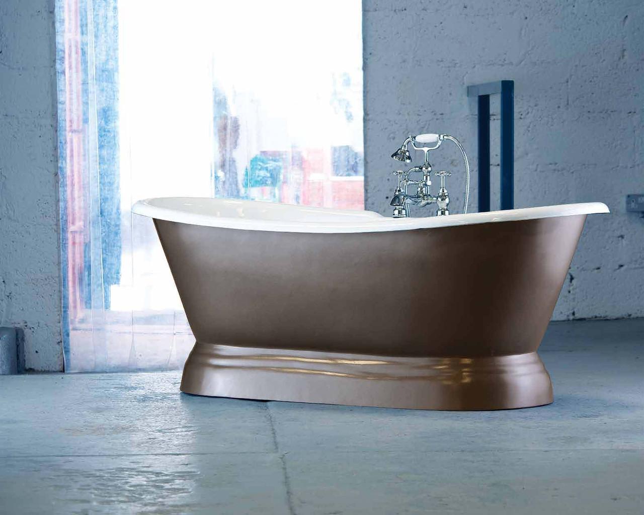 Классическая чугунная ванна на пьедестале в ретро стиле VERSAILLES