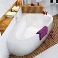 Ванны акриловые асимметричные