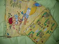 Набор детского постельного белья 3 эл желтые