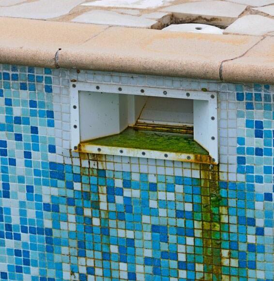 ржавчина в бассейне