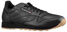 Кроссовки/Кеды (Оригинал) Reebok Classic Leather Black/Gum