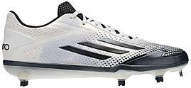 Кроссовки/Кеды (Оригинал) adidas adiZero Afterburner 2.0 White/Grey Metallic/Carbon Metallic