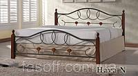 Кровать двуспальная Onder Mebli Hava N 140х200 Малайзия
