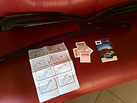 Дефлекторы окон (ветровики) Toyota Avensis 1997-2003, фото 1