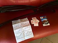 Дефлекторы окон (ветровики) Toyota Avensis 1997-2003