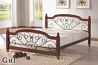 Кровать двуспальная Onder Mebli Gul 140х200 Малайзия