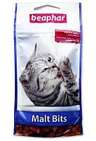 "Beaphar (Беафар) лакомство для выведения шерсти из желудка для кошек ""Malt-Bits"", 35 гр./75 табл."