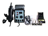 АКЦІЯ! Паяльна станція паяльная станция TECHNET 878D 100-480°C/200-480°C 50W LED