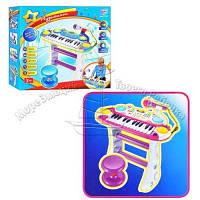 Пианино-синтезатор для детей со стульчиком и микрофоном Я Музыкант Limo Toy 7235