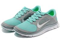 Кроссовки Nike Free Run 4.0 V3 Grey/Green, размер 36 (22,5 см)