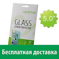 Защитное стекло Optima Универсальное 5.0''(67x136mm) (Флай iq 450, айкью 450 кватро горизонт 2)