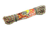 Фал ТМ Ділонг кольоровий поліпропіленовий 8мм*25м