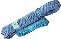 Шнур ТМ Ділонг полипропиленовый вязаный комбинированный 6мм*100м