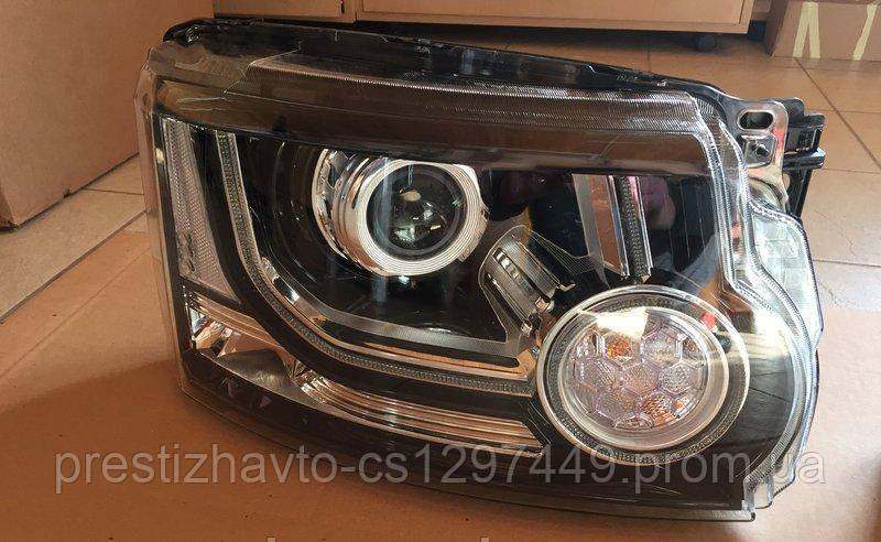 Передние фары на Land Rover Discovery 4(рестайлинг)