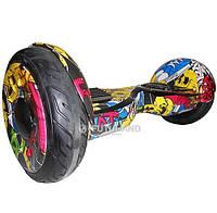 Гироскутер Smart Way Balance Wheel Premium 10 5 Графити Cамобаланс ТаоТао