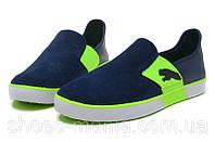Летние кроссовки Puma Lasy Slip On blue-green, фото 1