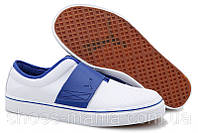 Летние кроссовки Puma El Rey Cross Perf white-blue, фото 1