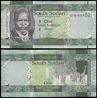 Судан Южный / South Sudan 1 pound (2011) UNC