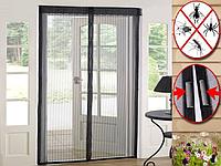 Антимоскитная штора(сетка) на двери с магнитом и липучкой CVNagro