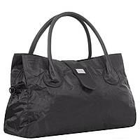 Дорожная средняя спортивная сумка текстильная черная Эпол 2360 (Epol) , 51*27*20 см, фото 1
