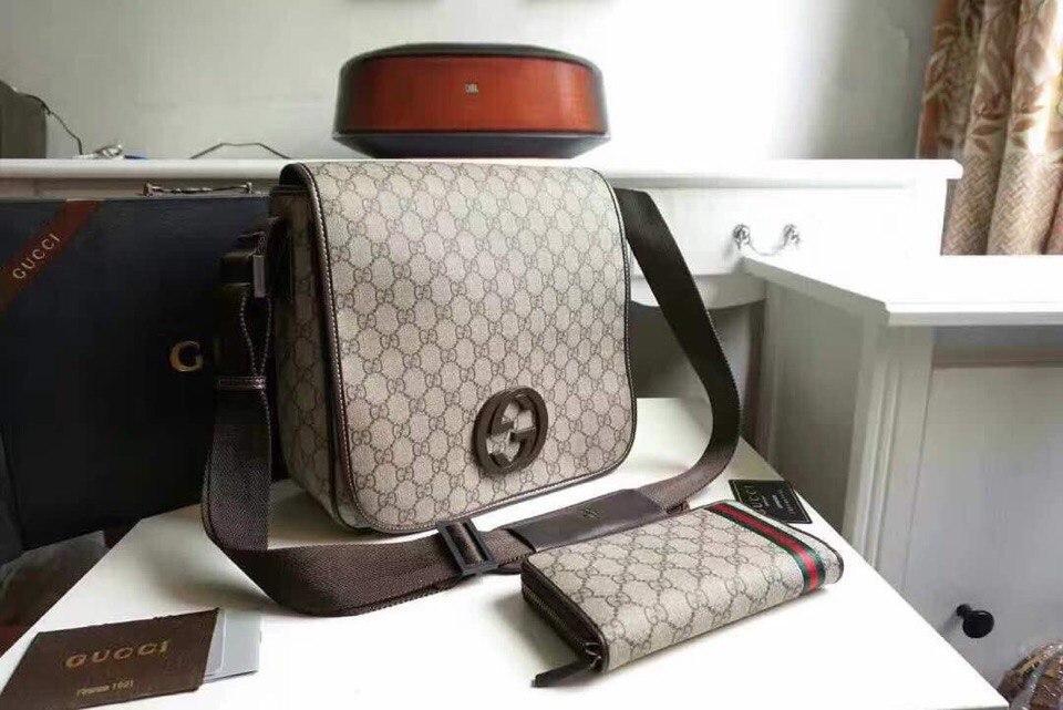 Мужская сумка через плечо - Gucci