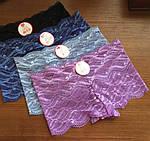 Женские трусы шорты, трусики кружевные, фото 2