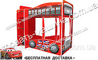 Двухъярусная кровать  Автобус Лондон 1700х1500х870