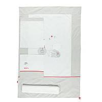 Детская постель Bebetto Pervane 4 предмета white/grey