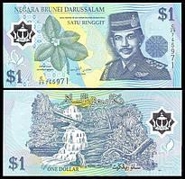Бруней / Brunei 1 Ringgit 2007 Pick 22b UNC