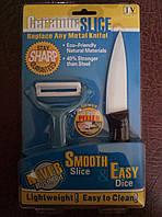 Набор нож с керамическим покрытием +овощечистка, фото 1