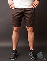 Мужские шорты карго Bezet - Cargo Brown (коричневый)