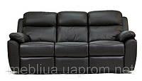 Алабама Біз - 3-х місний шкіряний диван з функцією спання