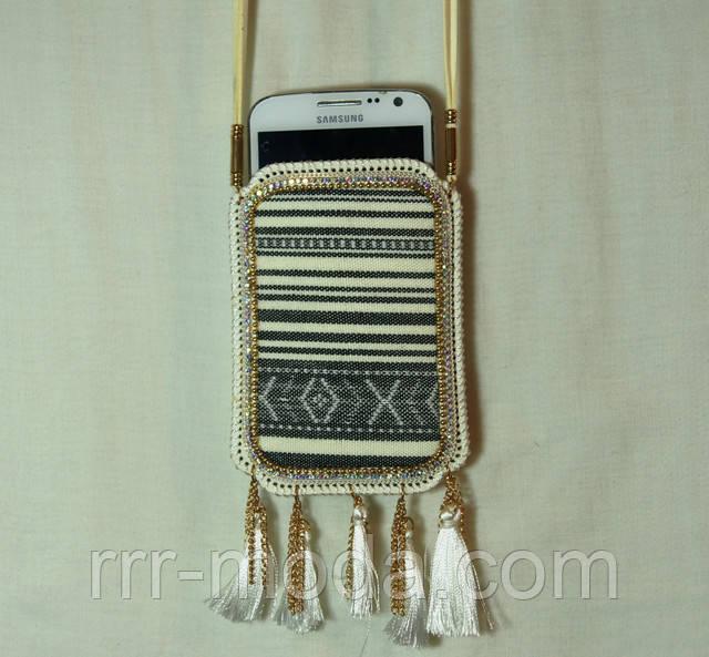 Женские сумочки на шею для мобильных телефонов оптом. Аксессуары и бижутерия RRR.