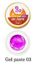 Гель-паста F.O.X Gel paste №003 (фиолетовый) 5 мл