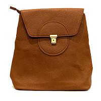 Сумка рюкзак женская из кожзаменителя классика