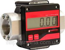 Лічильник обліку великого протоку палива, легких масел - MGE-250, 15-250 л/хв (Gespasa)