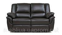 Алабама - 2-х місний шкіряний диван з функцією релаксації («реклайнер»)