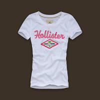 Hollister original Женская футболка 100% хлопок холлистер