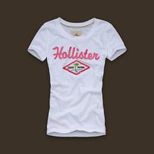 Hollister original Жіноча футболка 100% бавовна холлистер