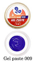 Гель-паста F.O.X Gel paste №009 (синий) 5 мл