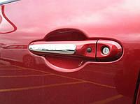 Nissan Juke 2011-17 хромовые накладки на передние дверные ручки Новые Оригинальные